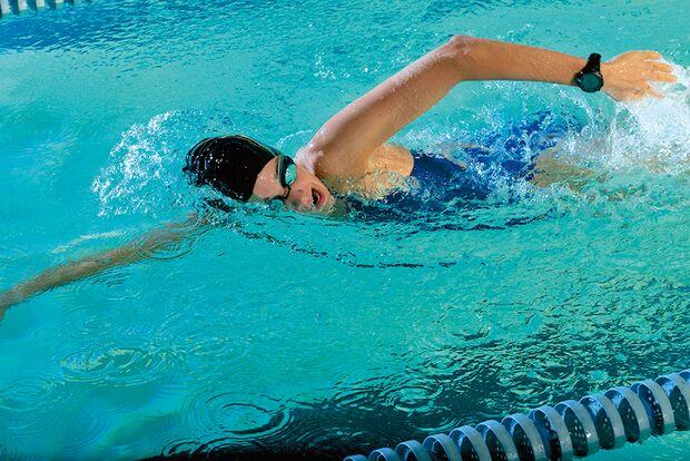AL Schwimmen Schwimmtraining Garmin Schwimmerin