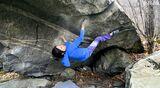 Alex Puccio klettert Amber 8B im Tessin