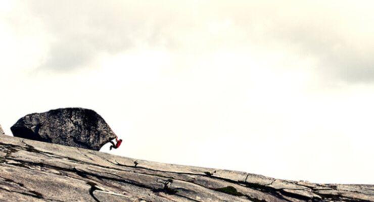 Bouldern + Reisen in Norwegen, Film von Pirmin Bertle: Europe's most scenic bouldering (pt 1)