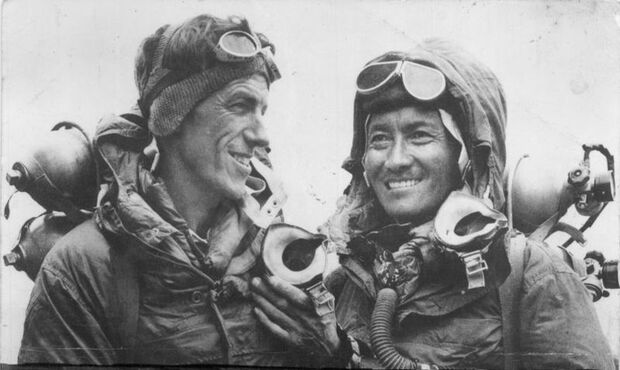 Edmund Hillary & Tenzing Norgay Mount Everest
