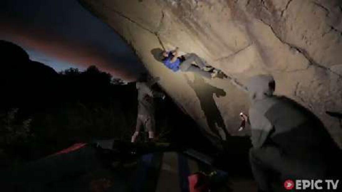 El Diablo (V15): Daniel Woods kreiert sensationellen Highball-Boulder in Mexico (by EpicTV)