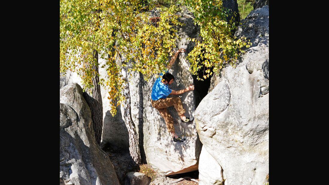 Fontainebleau Bouldern 95.2