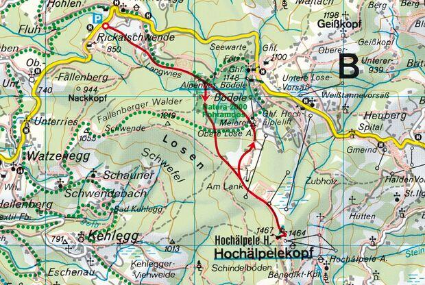 Hochälpelekopf Bregenzerwald Skitour