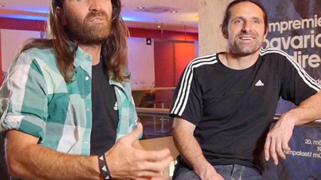 Huberbuam-Interview: Gespräch mit Thomas & Alexander Huber zur Premiere von Bavarian Direct
