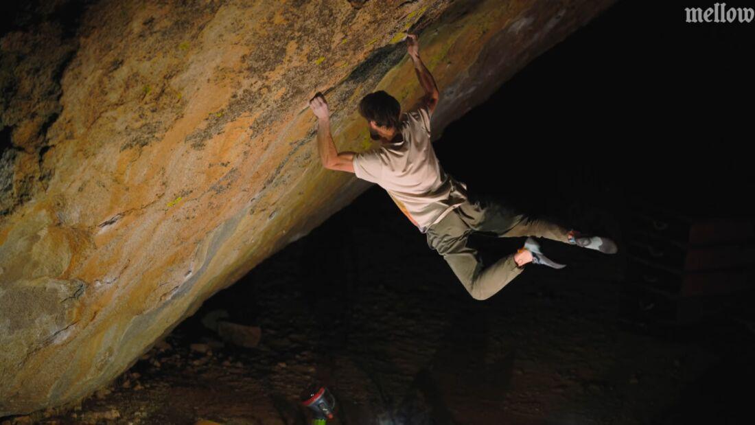 Jimmy Webb klettert Lucid Dreaming