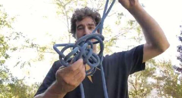 Joe Kinder climbing Essentials: Rope Coiling