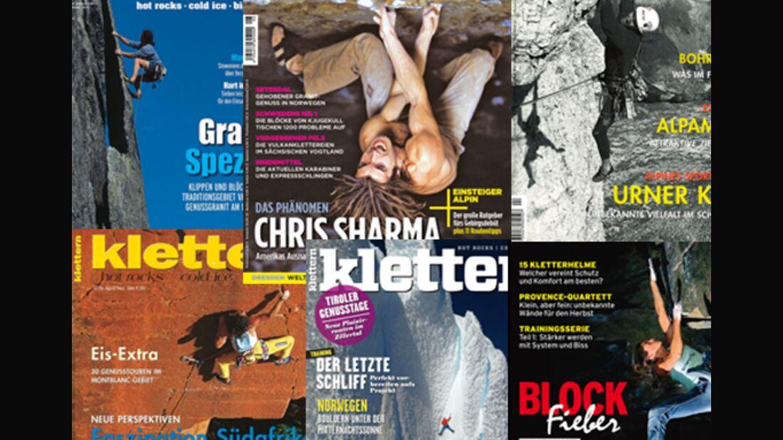 KL 20 Jahre Magazin klettern Coverwahl Teaser