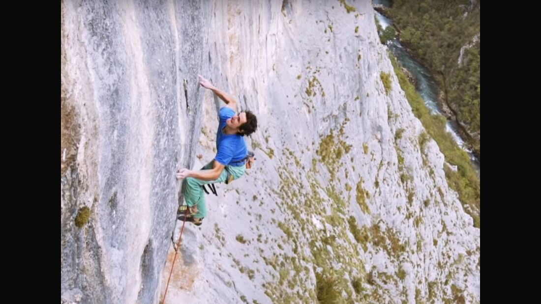 KL Adam Ondra Balkan trip The Dream 9b