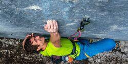 KL Adam Ondra klettert Disbelief 9b in Canmore