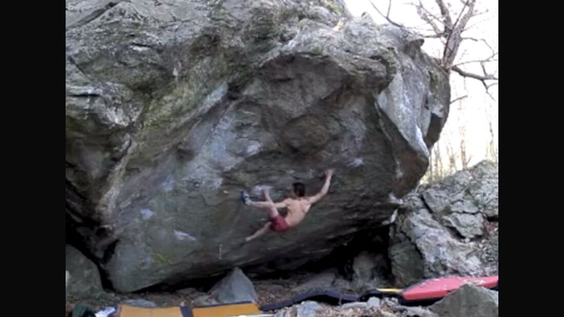KL Adam Ondra klettert Gioia in Varazze