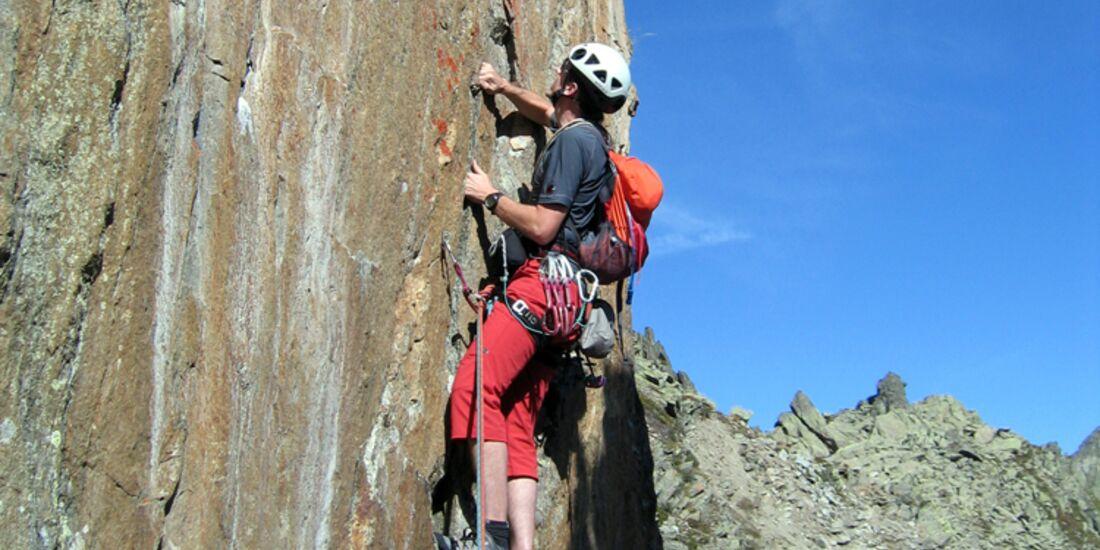 KL Alpinklettern mit Rucksack