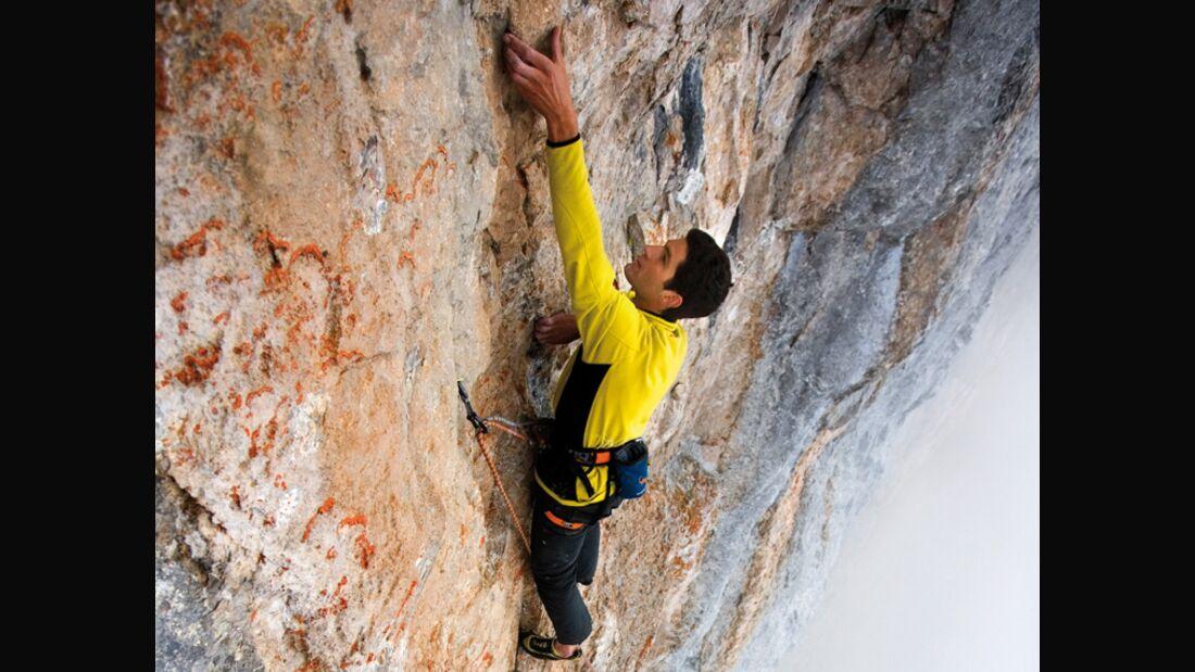KL Alpinklettern mit Softshell