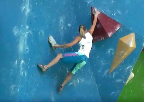 KL Arco Rock Master 2012 Video Boulderfinale Damen