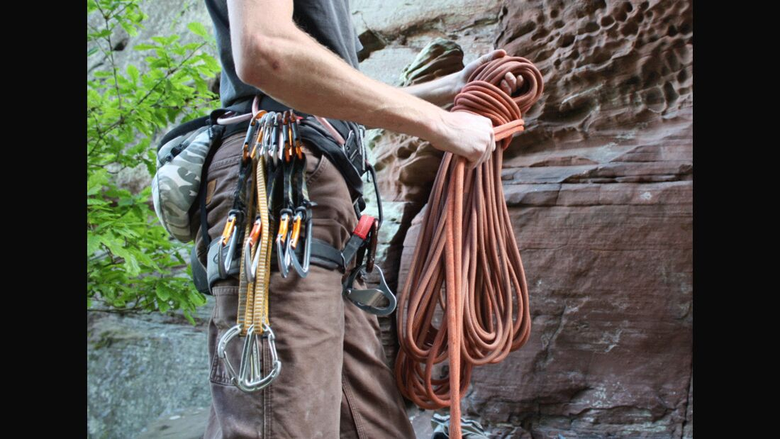 KL Ausrüstung zum Klettern