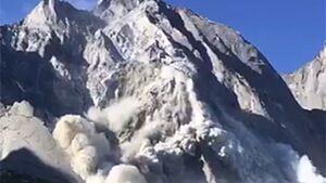 KL Bergsturz vom Piz Cengalo Bergell 2017