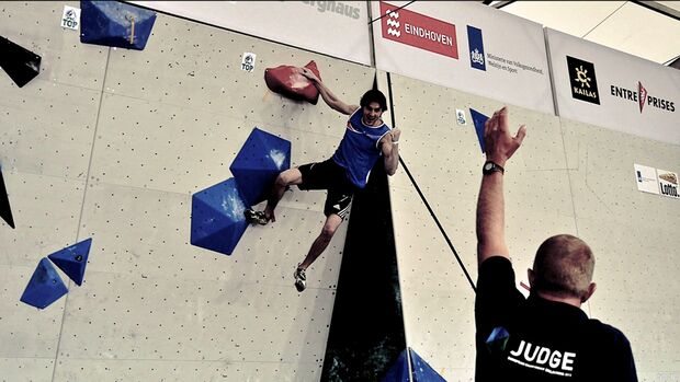 KL Boulder EM Eindhoven 2013_Gesamt-Weltcupsieger Dmitrii Sharafutdinov aus Russland wurde in Eindhoven Zweiter (jpg)