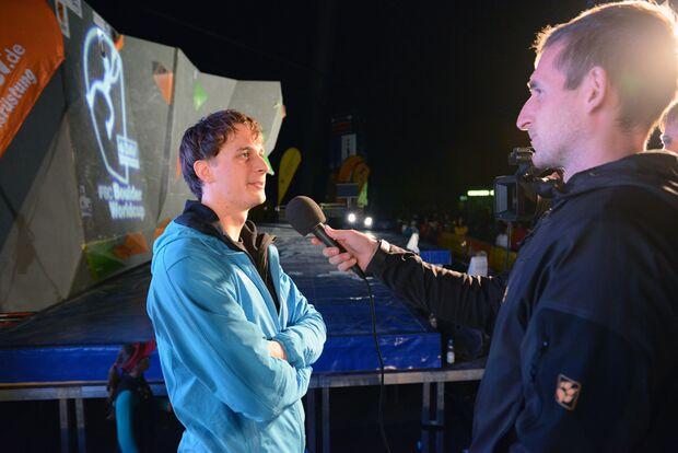 KL_Boulder Worldcup Muenchen 2013_Thomas Tauporn_GER_ im Interview_SKE_7179 (jpg)
