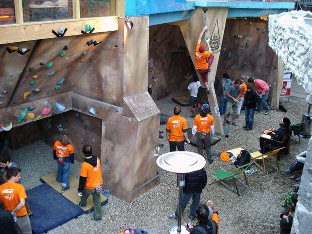 KL Boulderdankfest am Kegel