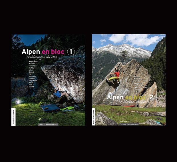 KL Boulderführer Alpen en Bloc Panico