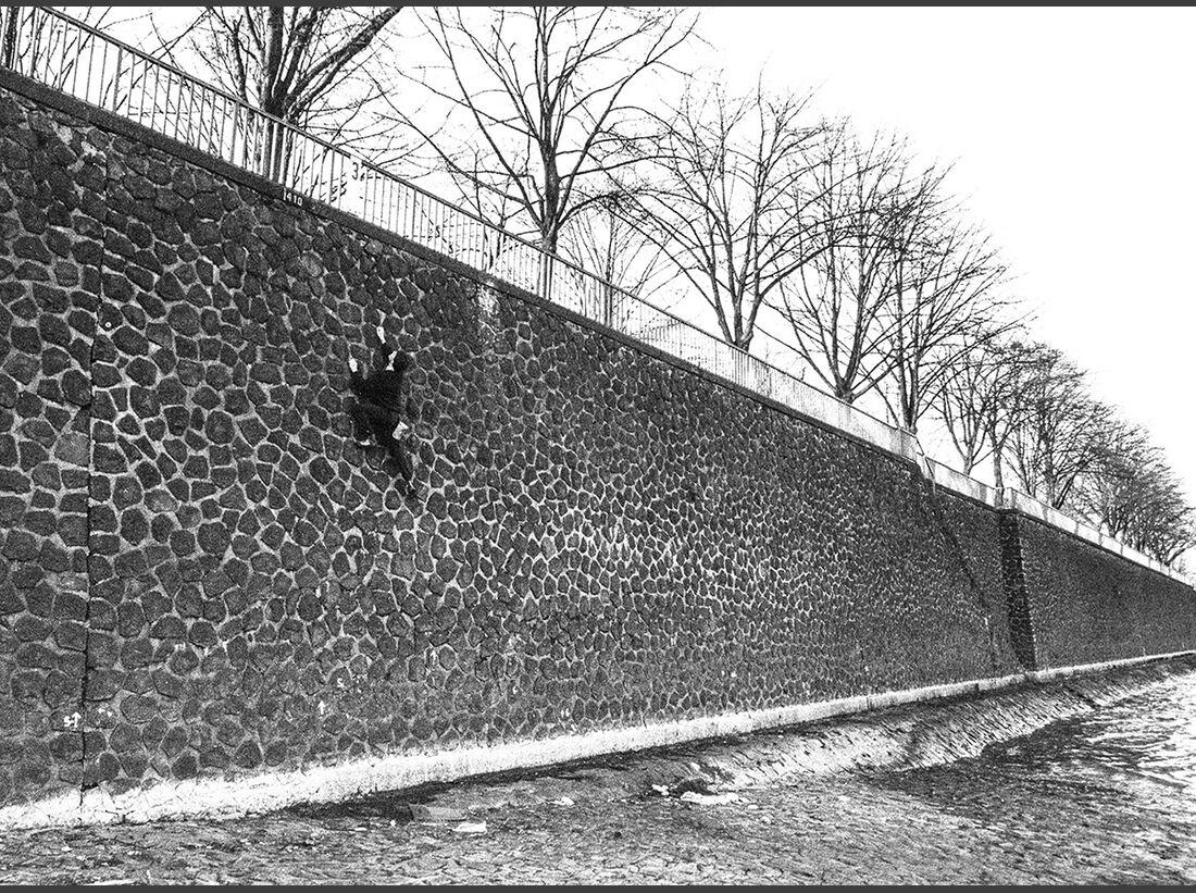 KL Buildering Urban Bouldering Köln Niehl Hafenmauer