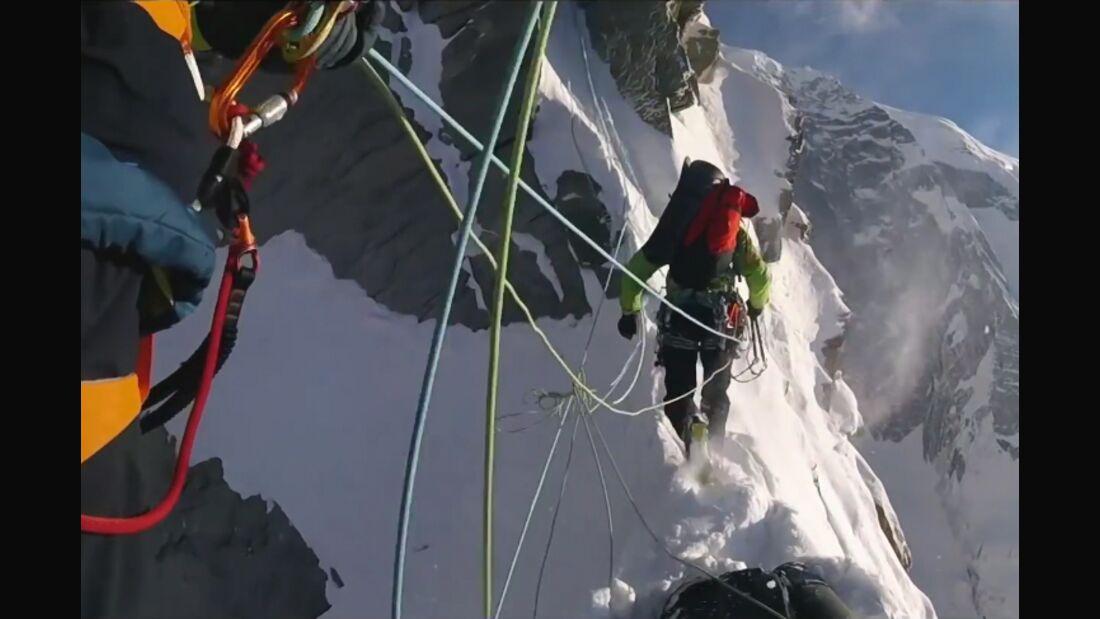 KL DAvid Lama Hansjörg Auer Annapurna III unclimbed teaser