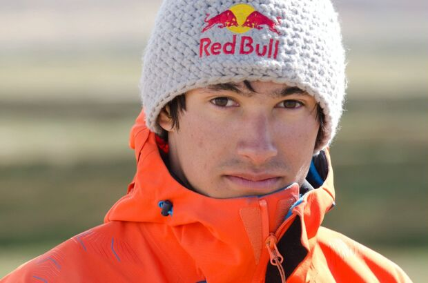 KL DAvid Lama in Patagonien