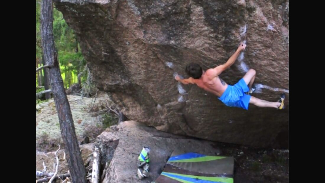 KL Daniel Woods bouldert The Hourglass Fb 8b teaser