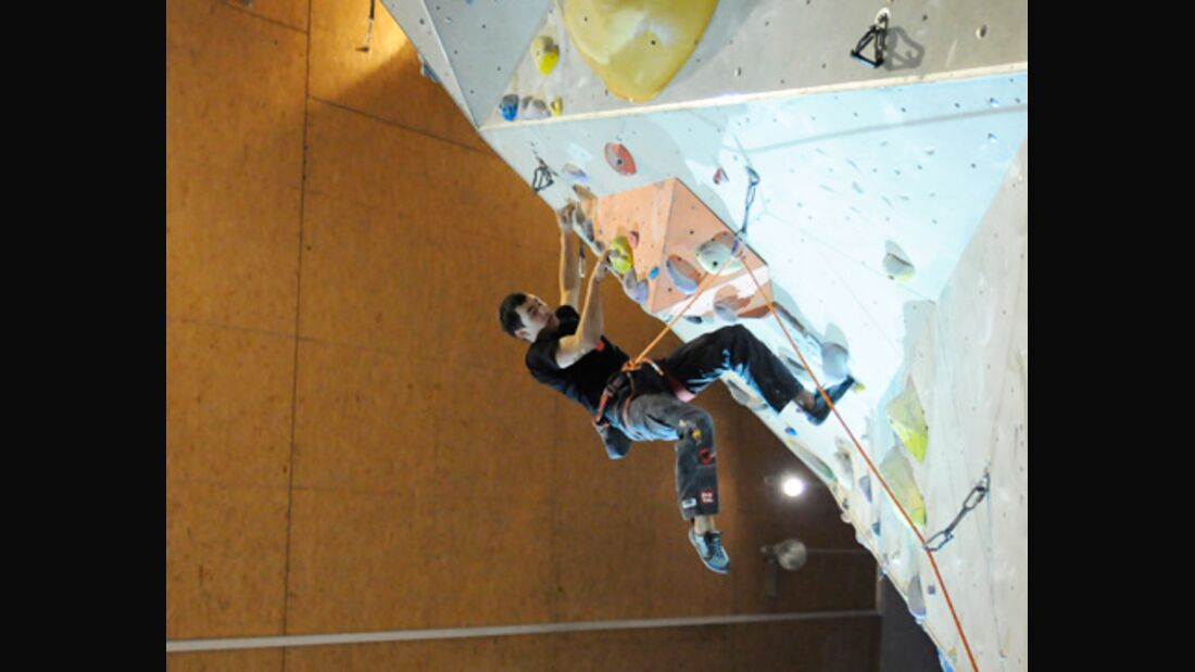 KL David Lama Challenge the Wall Stuttgart