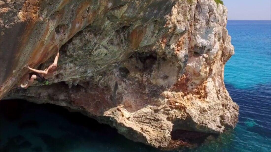 KL Deep Water Soloing Mallorca Psicobloc