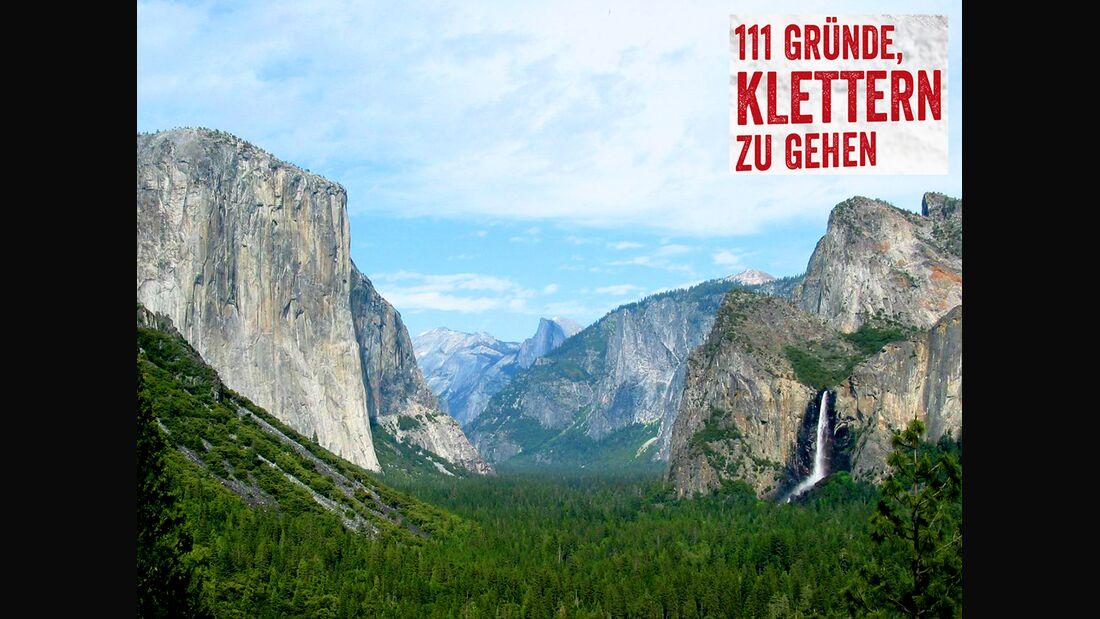 KL El Capitan Yosemite Valley unter CC 3-0