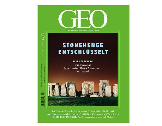 KL Geo 10-2016 Titel Cover