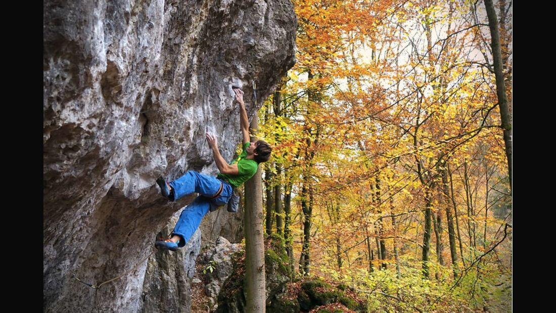 KL Highlights: Thomas Dauser klettert Intercooler 8c im Frankenjura