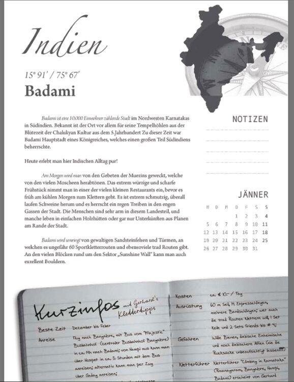 KL Info-Seite Badami Kletterkalender