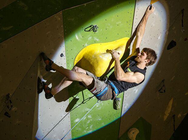 KL Jan Hojer wird Deutscher Meister Lead-Klettern 2015