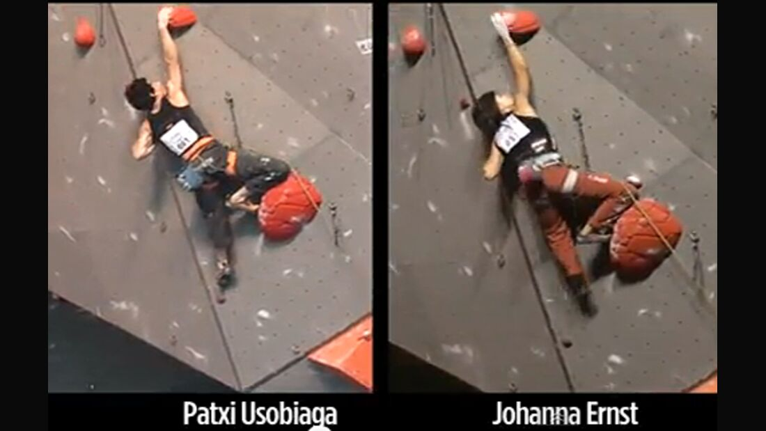 KL Johanna Ernst + Patxi Usobiaga Superfinale Puurs Leadweltcup 2009