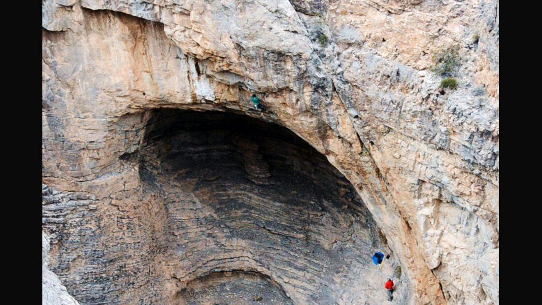 KL Jonathan Siegrist klettert Le Reve (9a/+) in Nevada Teaserbild