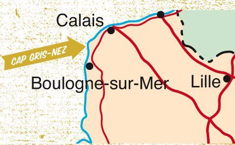 KL Karte Calais Bouldern Info