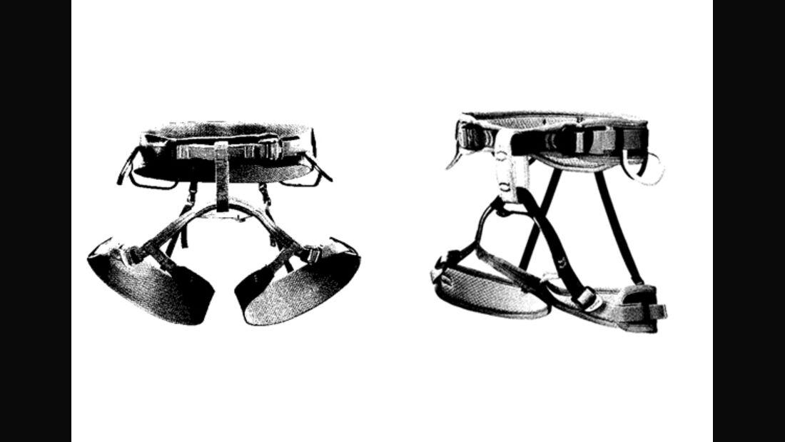 KL Klettergurte mit verstellbaren Beinschlaufen im Test