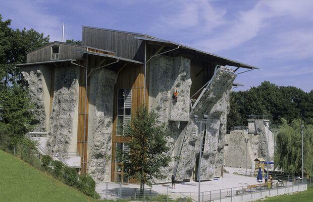 KL Kletterhalle Gilching Außenanlage