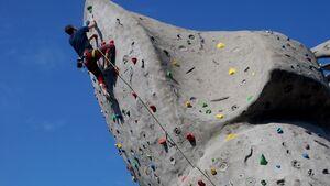 KL Klettern auf der Waldau in Stuttgart