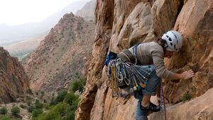 KL Klettern in Marokko Sarah
