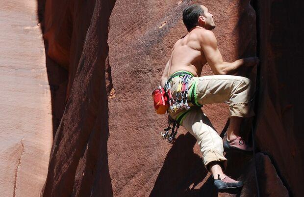 KL Klettern in Utah