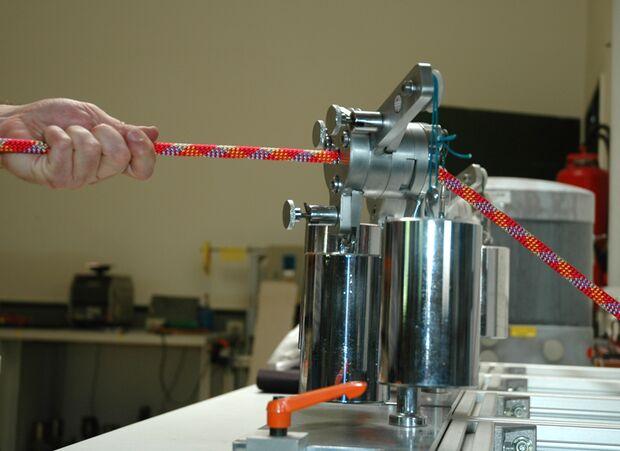 KL Kletterseil Testanlage Mantelverschiebung