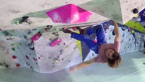 KL Klettertraining Felipe Camargo, Chris Sharma & Friends am Plastik