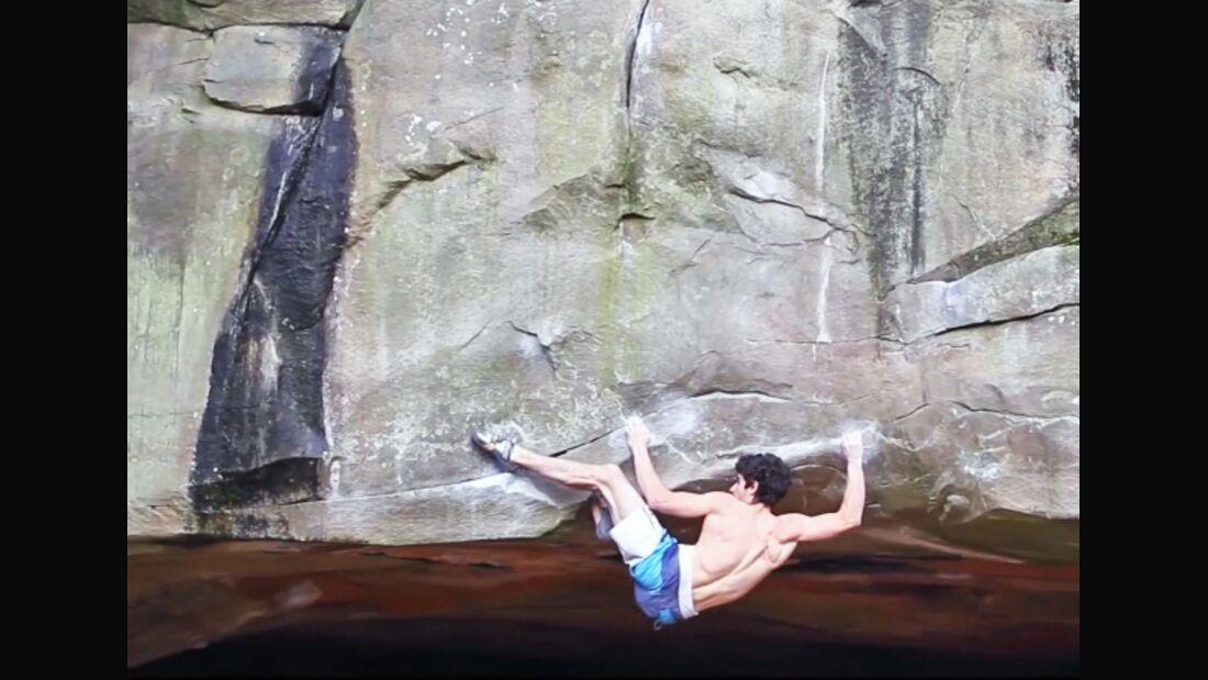 KL La Force 8c Boulder Fontainebleau Alban Levier Erstbegehung teaser