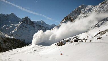 KL Lawine Zinal Schweiz