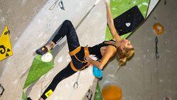 KL Lena Herrmann wird Deutsche Meisterin Lead-Klettern 2015