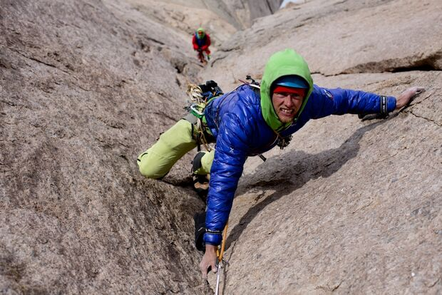KL-Leo-Houlding-Ulvetanna-Berghaus-Leo Houlding free climbing