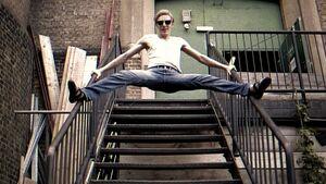 KL Louis Parkinson footlose climbing rocknroll