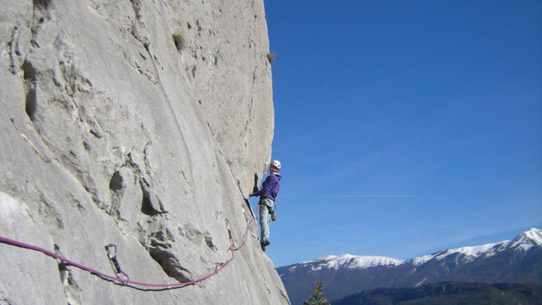 KL Mehrseillängen Klettern am Gardasee Sarcatal